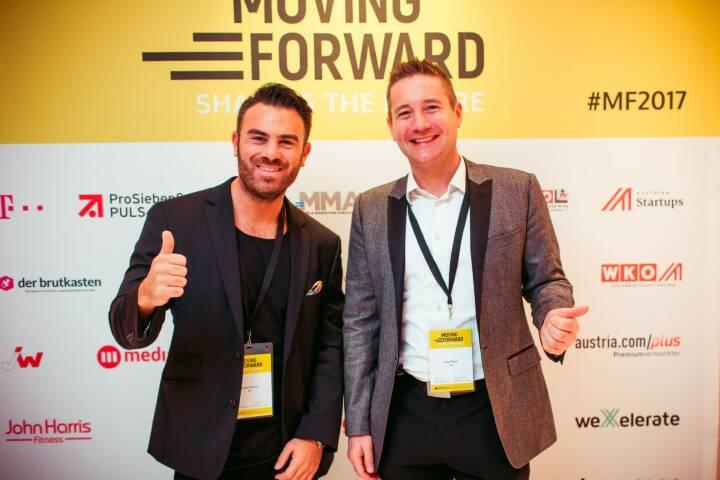 Kommunikatoren Josef Mantl und Daniel Bessler, © Adrian Almasan/Good Life Crew