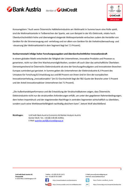 Österreichs Elektroindustrie wächst 2017 weiter kräftig, Seite 3/3, komplettes Dokument unter http://boerse-social.com/static/uploads/file_2391_osterreichs_elektroindustrie_wachst_2017_weiter_kraftig.pdf (14.11.2017)
