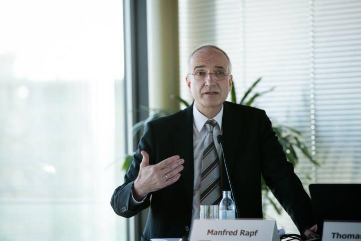 Manfred Rapf, Generaldirektor der s Versicherung, Credit: Erste Bank