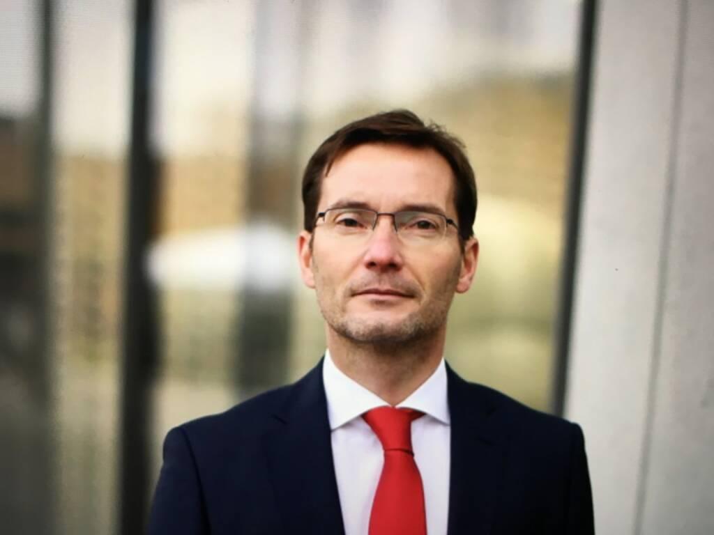 Andreas Sauer wird per 01.02.2018 Mitglied des Vorstands und neuen CFO der PORR AG nominiert. Foto©Andreas Sauer, © Aussendung (20.11.2017)