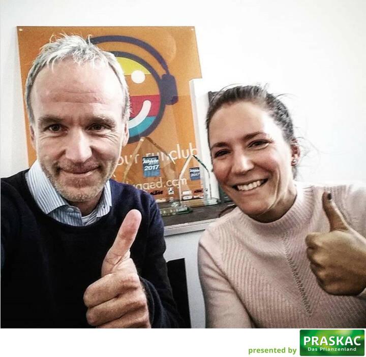 Christian Drastil, Bernadette Hörner (sportblog.cc)