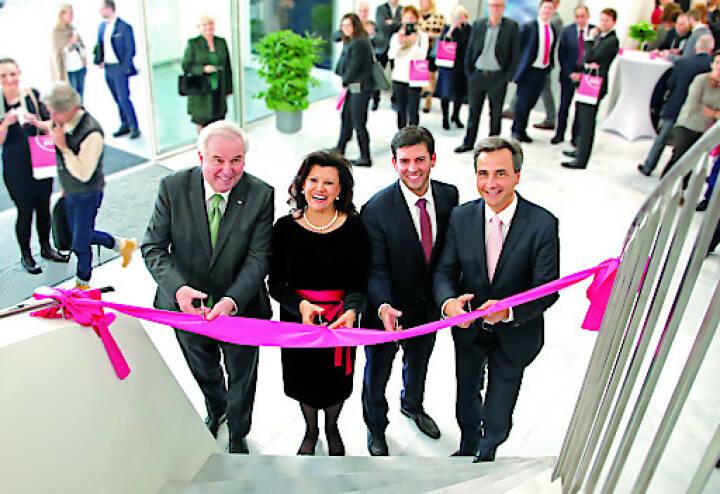 Feierliche Eröffnung des neuen Headquarters des Institut AllergoSan. Credit: © Institut Allerogsan / L. Grumet