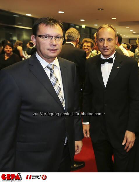 Norbert Darabos, Toni SchuttiG, © GEPA pictures/ Sporthilfe (15.12.2012)