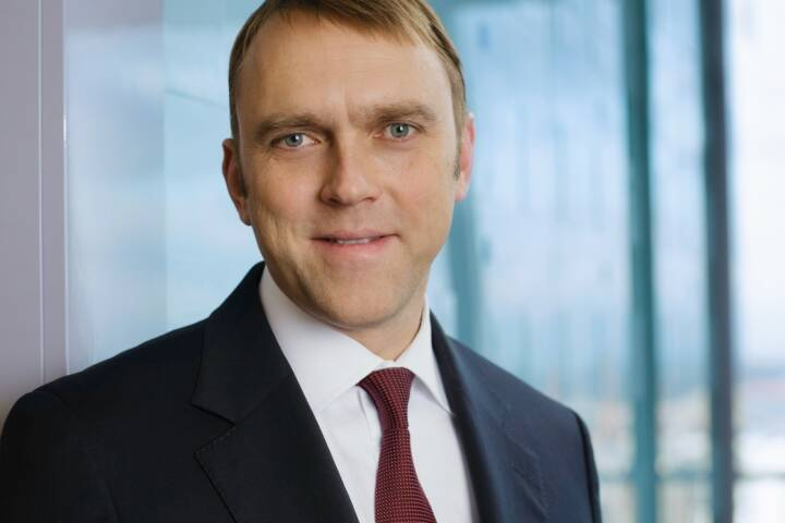 Jens Wilhelm, bei Union Investment unter anderem für Portfoliomanagement und Immobilien zuständiger Vorstand; Bild: Union Investment