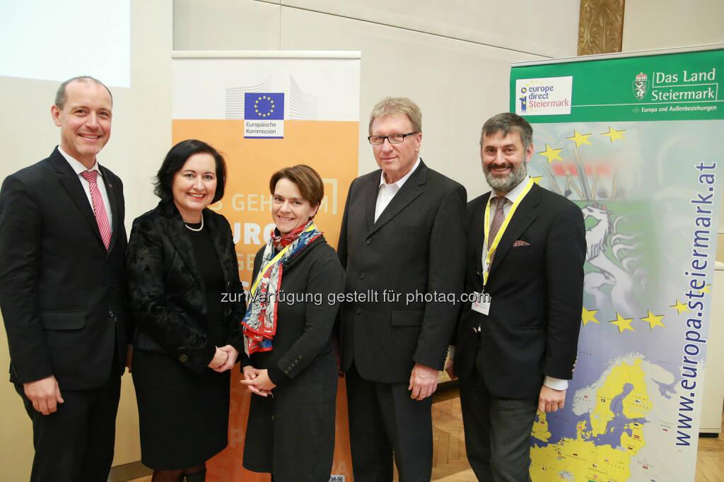 Vertretung der EU-Kommission in Österreich: Europa in die Schule bringen (Fotocredit: Europäische Kommission - Vertretung in Ö/APA-Fotoservice/Hautzinger), © Aussender (28.11.2017)