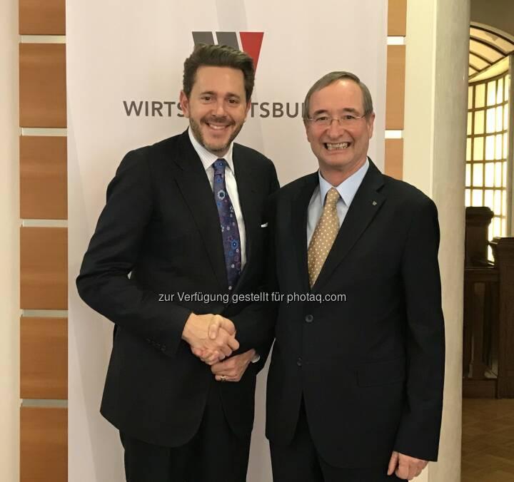 Österreichischer Wirtschaftsbund: Wirtschaftsbund-Präsidium wählte Harald Mahrer einstimmig zum Nachfolger von Christoph Leitl (Fotocredit: Österreichischer Wirtschaftsbund)