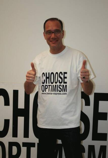 A Choose with a Smeil! Andreas von Richthofen, © Diverse Fotografen / Aktion wurde vom Börse Express 2014 an photaq/BSN übetragen (01.06.2013)