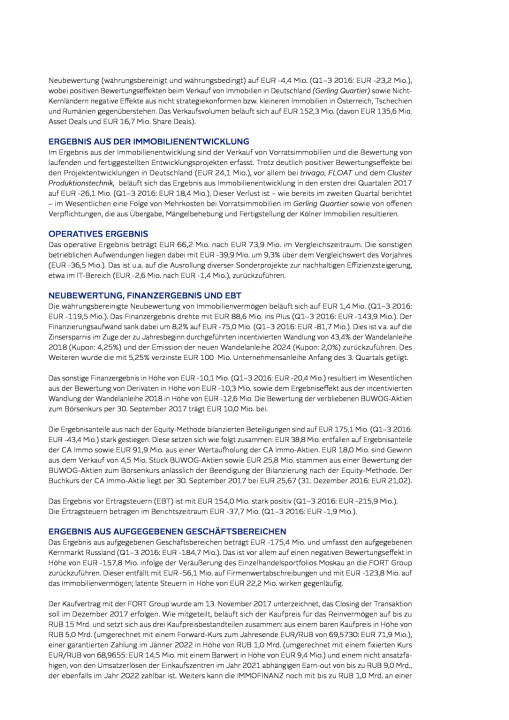 Immofinanz: Ergebnis-, Bilanz- und Cash ow-Analyse, Seite 2/6, komplettes Dokument unter http://boerse-social.com/static/uploads/file_2404_immofinanz_ergebnis-_bilanz-_und_cash_ow-analyse.pdf