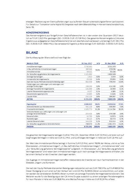 Immofinanz: Ergebnis-, Bilanz- und Cash ow-Analyse, Seite 3/6, komplettes Dokument unter http://boerse-social.com/static/uploads/file_2404_immofinanz_ergebnis-_bilanz-_und_cash_ow-analyse.pdf (28.11.2017)