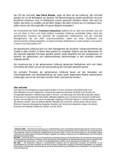 UniCredit mit offiziellem Bekenntnis zur Work-Life Balance, Seite 2/3, komplettes Dokument unter http://boerse-social.com/static/uploads/file_2406_unicredit_mit_offiziellem_bekenntnis_zur_work-life_balance.pdf (29.11.2017)