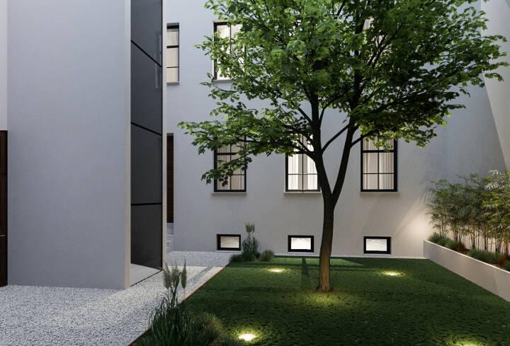 """EHL Immobilien wurde  mit der Vermarktung des Projekts """"Am Heumarkt 25"""" beauftragt. Der auf Luxusimmobilien spezialisierte Entwickler BOP Immobiliendevelopment revitalisiert ein Gründerzeithaus und erweitert das Objekt um einen Dachgeschoßausbau. Die Fertigstellung ist für Sommer 2019 geplant. Visualisierung: EHL"""