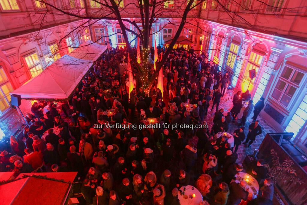 Wiener Börse Punsch, © Wiener Börse/APA-Fotoservice (01.12.2017)