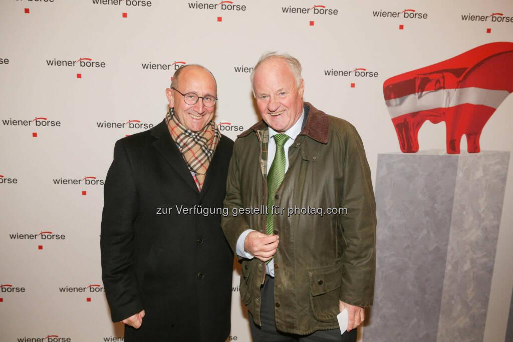 Ludwig Nießen, Georg Wailand, © Wiener Börse/APA-Fotoservice (01.12.2017)