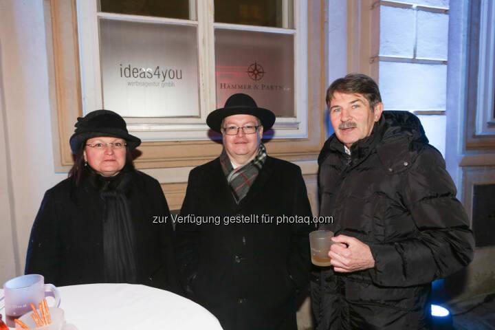 Yvette & Gregor Rosinger, Ernst Vejdovszky