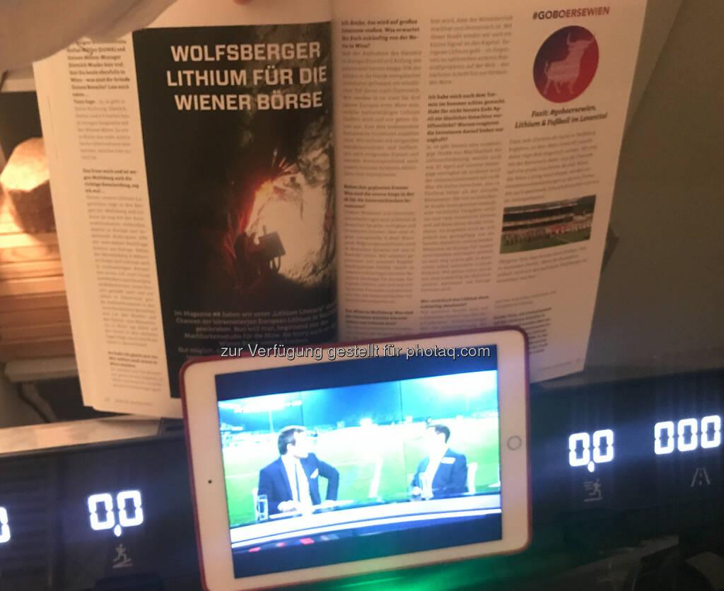 Wolfsberg mit European Lithium im Börse Social Magazine und via Sky im TV (02.12.2017)