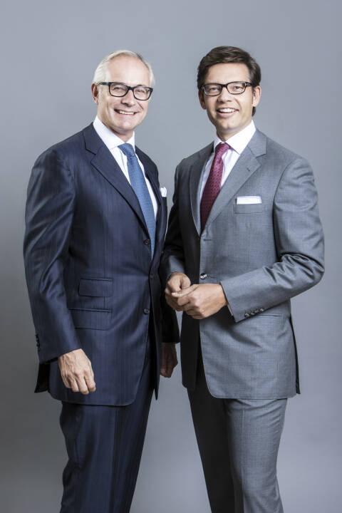 """RSM, das weltweit sechstgrößte Netzwerk unabhängiger Wirtschaftsprüfer, Steuer- und Unternehmensberater, hat im Rahmen der diesjährigen The Accountant and International Accounting Bulletin Awards die Auszeichnung für das """"Netzwerk des Jahres"""" erhalten. Stefan Walter und Lukas Zeinler, Partner von RSM Austria (c)RSM"""