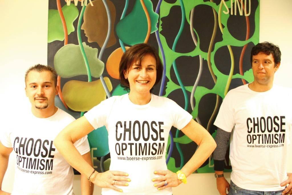 A Choose with a Smeil!: Eduard Ferenczi, Isabella Leeb, Daniel Brandtmayer (ÖVP), © Diverse Fotografen / Aktion wurde vom Börse Express 2014 an photaq/BSN übetragen (01.06.2013)