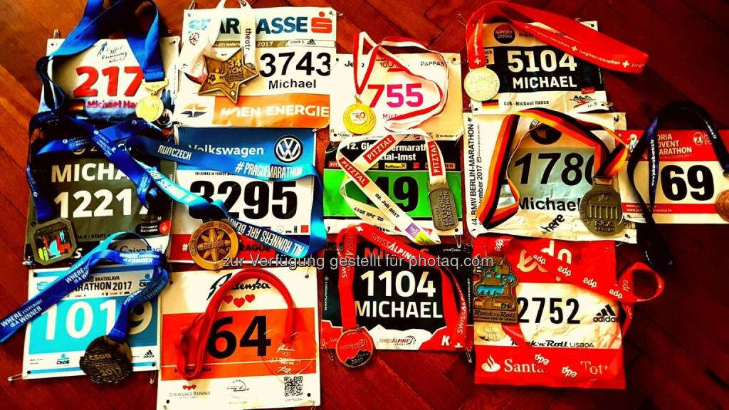 14 Marathons  (10.12.2017)