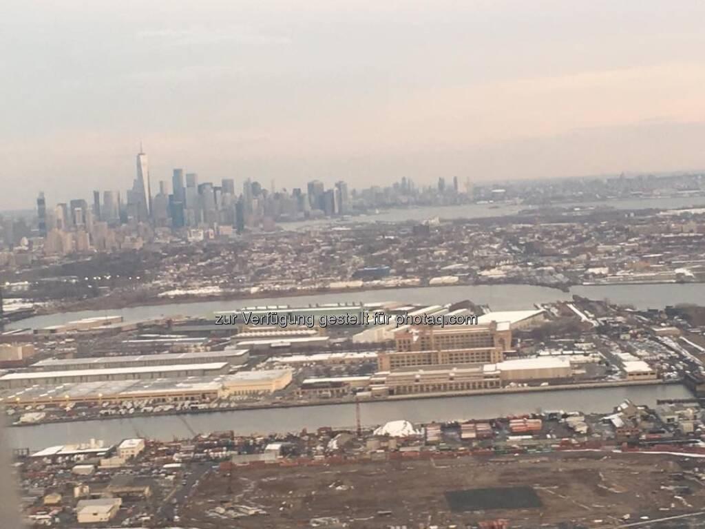 Flug über Manhattan (12.12.2017)
