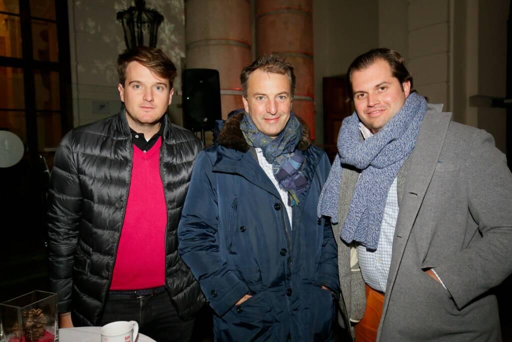 Maximillian Nimmervoll (DIAMIR Holding), Andre Eckert (iab Austria ), Lorenz Edtmayer (DIAMIR Holding) (© leisure.at/Roland Rudolph) (12.12.2017)