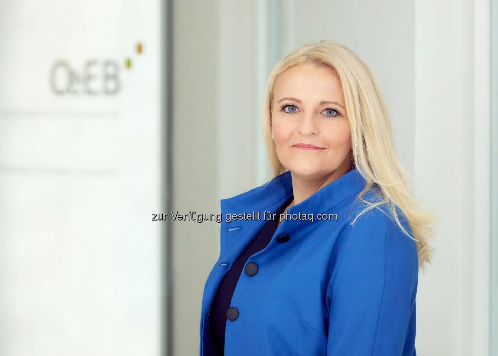 Sabine Gaber - Sabine Gaber folgt Andrea Hagmann als Mitglied des Vorstandes OeEB Oesterreichische Entwicklungsbank AG: Wechsel an der Spitze der Oesterreichischen Entwicklungsbank AG (OeEB) (Bild: OeEB/Häusler), © Aussender (13.12.2017)