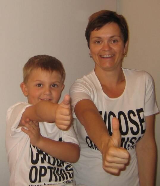 A Choose with a Smeil! Julian und Cornelia Dankl, Bonus, © Diverse Fotografen / Aktion wurde vom Börse Express 2014 an photaq/BSN übetragen (01.06.2013)