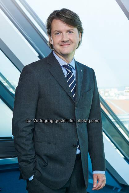 Gerald Fleischmann - Volksbank Wien AG: KMU-Milliarde nach 11 Monaten erfolgreich ausgeschöpft (Bild: Polster/Volksbank), © Aussender (15.12.2017)