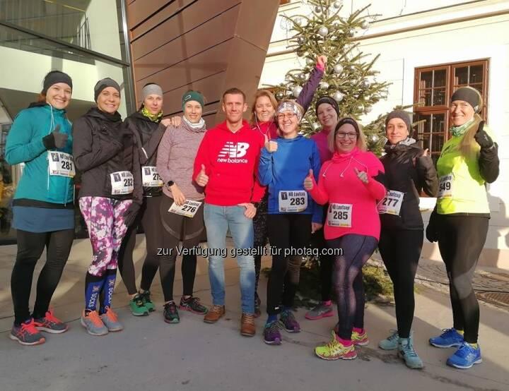 Das Team Run with Schritti