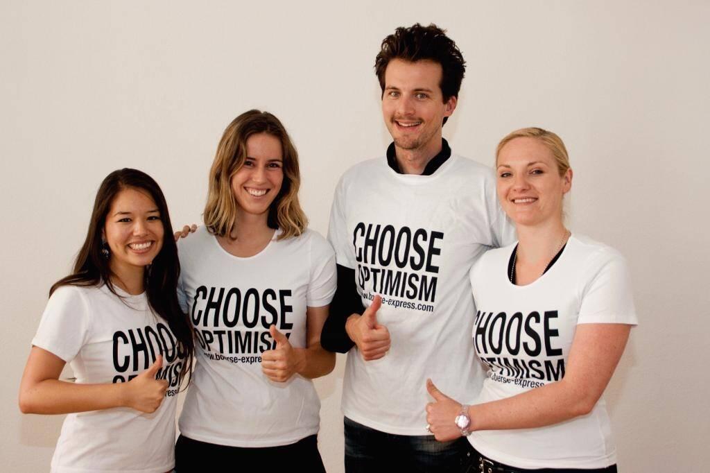 A Choose with a Smeil! ikp: Anthea Jünemann, Monika Melcher, Franz Ramerstorfer, Sabine Hermann, © Diverse Fotografen / Aktion wurde vom Börse Express 2014 an photaq/BSN übetragen (01.06.2013)