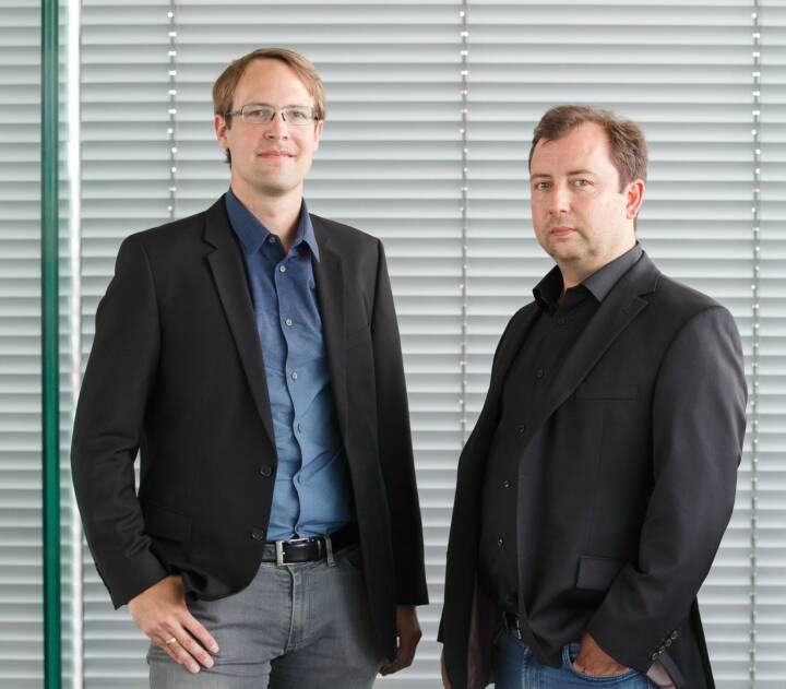 Unternehmer Roman Scharf und Peter Lasinger legen mit neuen VC-Fonds capital300 los, Bild: Startup300