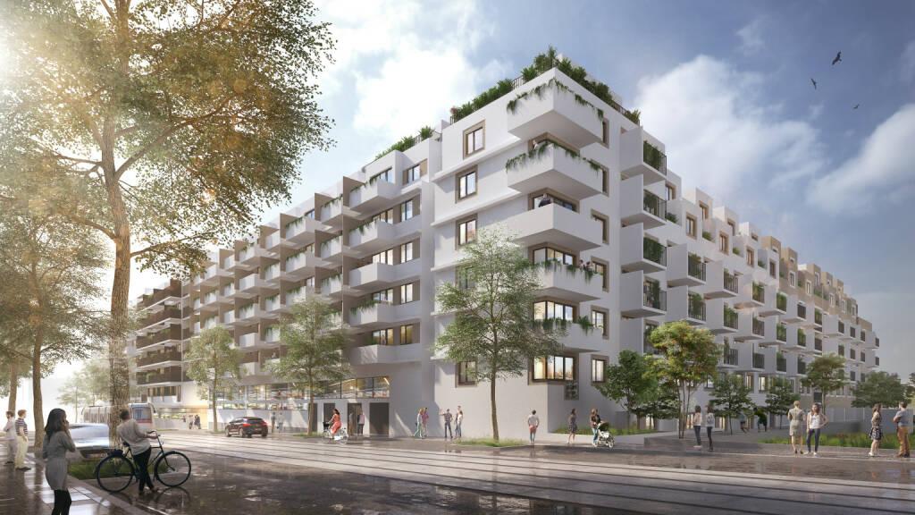 Invester United Benefits entwickelt Wohnbauprojekt auf 17.827 Quadratmeter großem Areal in Simmering; Fotocredit:Soyka/Silber/Soyka Architekten (21.12.2017)