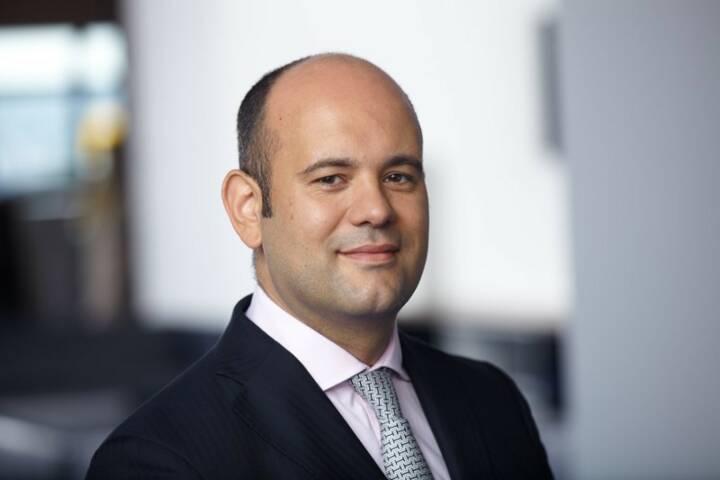Carlos Böhles, Leiter institutionelles Geschäft bei Schroders in Frankfurt am Main, Bild: Schroders