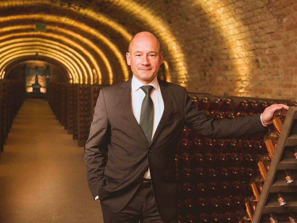 Schlumberger Wein- und Sektkellerei GesmbH: Wechsel an der Spitze der Schlumberger AG, Arno Lippert wird neuer Chef; Fotocredit: Schlumberger, © Aussendung (21.12.2017)