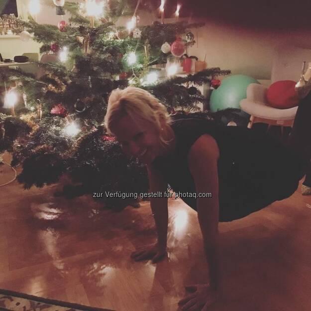 Eine Planke geht immer (25.12.2017)