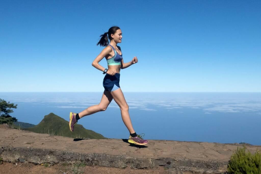 Elena Ecker rennt auf Madeira durch die Gegend (27.12.2017)