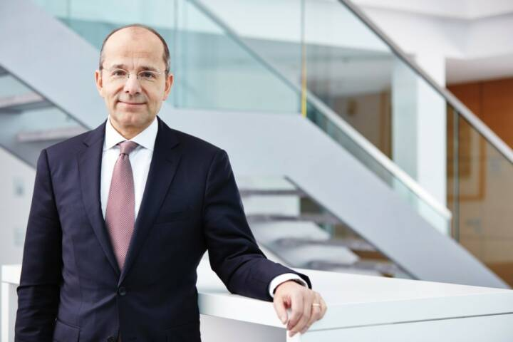 Günther Bräunig ist neuer Vorstandsvorsitzender der KfW Bankengruppe, Credit: KfW-Bildarchiv / Jens Steingaesser