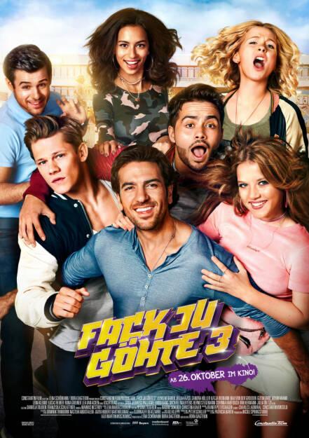 Constantin Film: FACK JU GÖHTE 3 ist erfolgreichster Film 2017!; Fotocredit:Constantin Film, © Aussendung (01.01.2018)