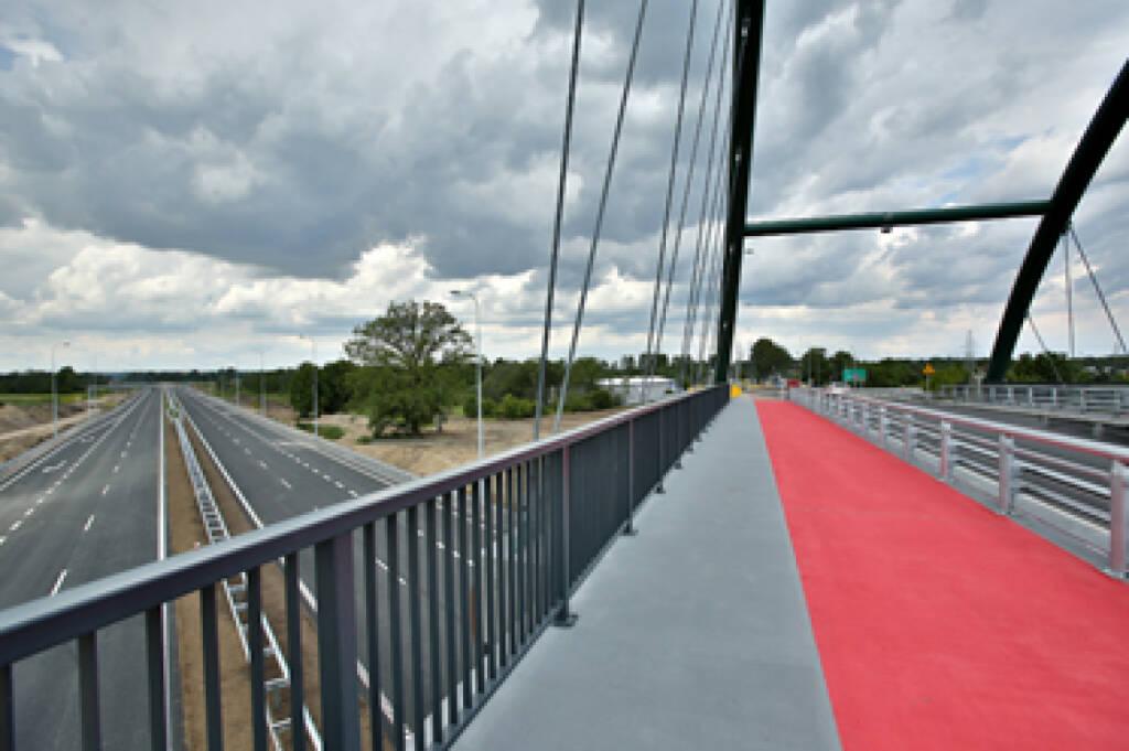 Ein Teil der S7 wurde bereits erfolgreich gebaut. Mit dem 21,5 km-Abschnitt von Mława nach Strzegowo leistet die PORR S.A. einen weiteren Beitrag zur Fertigstellung der Schnellstraße. Foto © PORR, © Aussendung (08.01.2018)