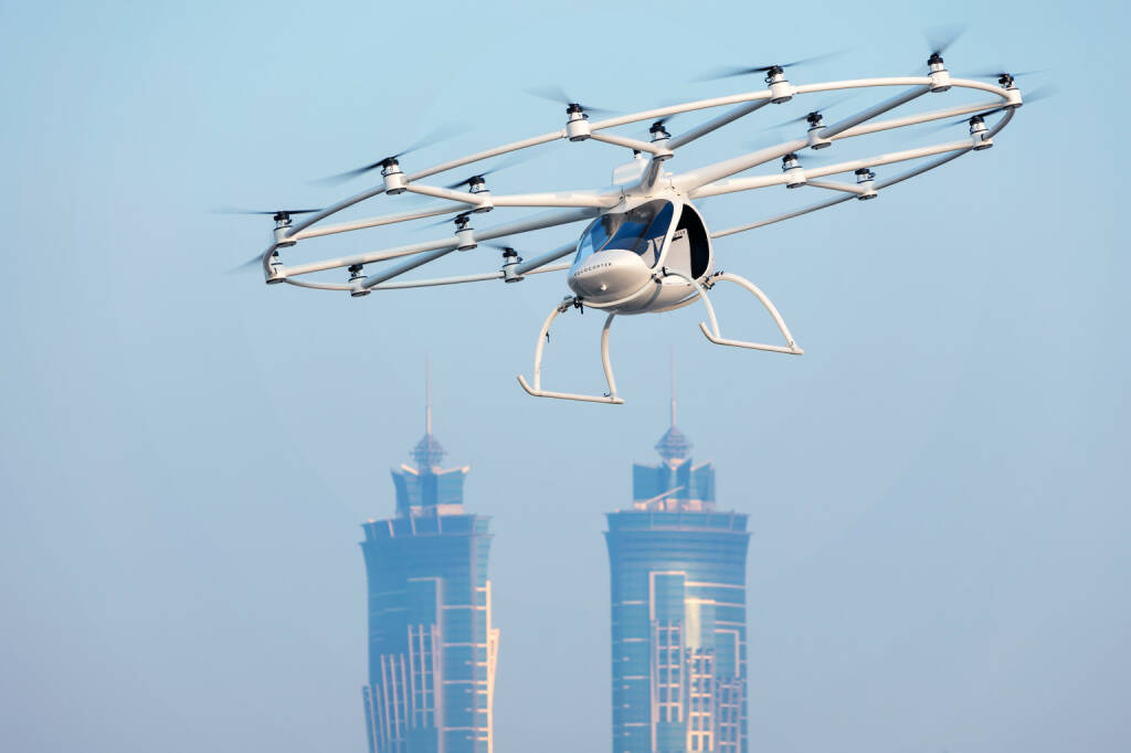 Volocopter 2X, Photo: Nikolay Kazakov, Karlsruhe (09.01.2018)