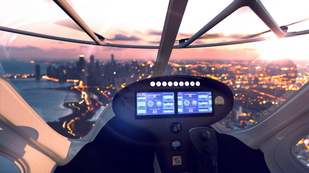 Volocopter 2X, Photo: Volocopter (09.01.2018)