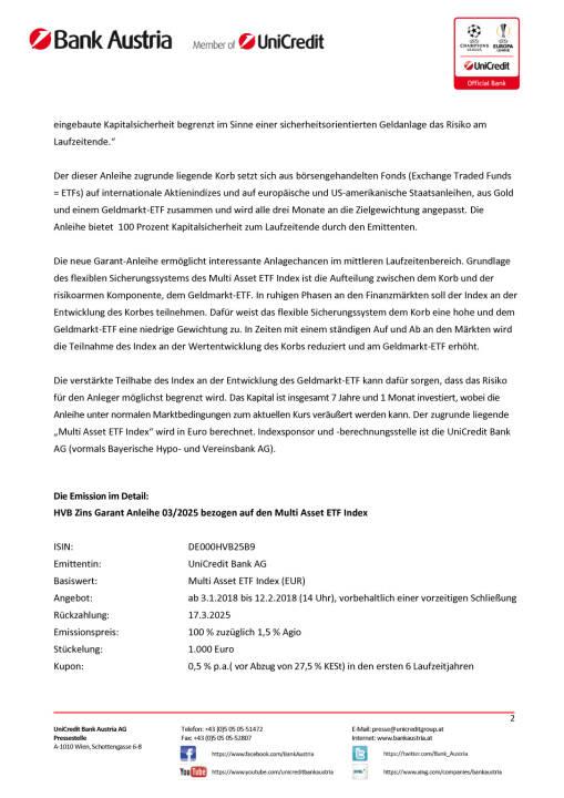 """Die neue HVB Zins Garant Anleihe 03/2025 bezogen auf den """"Multi Asset ETF Index"""", Seite 2/3, komplettes Dokument unter http://boerse-social.com/static/uploads/file_2414_die_neue_hvb_zins_garant_anleihe_032025_bezogen_auf_den_multi_asset_etf_index.pdf"""