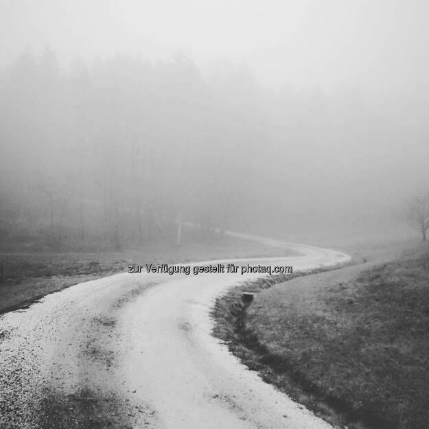 Strasse Weg Ziel, © Tino Griesbach (10.01.2018)