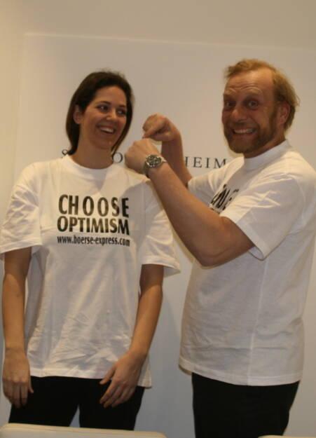 A Choose with a Smeil! Christine Reitsamer, Heinrich Karasek , © Diverse Fotografen / Aktion wurde vom Börse Express 2014 an photaq/BSN übetragen (01.06.2013)