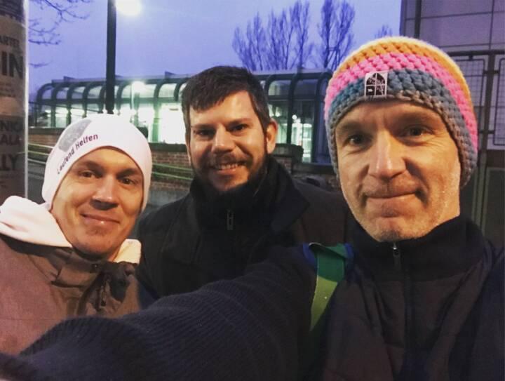 Markus Riederer, Mike Breit, Christian Drastil