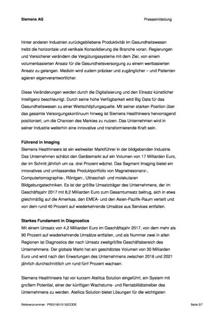 Siemens Healthineers plant IPO, Seite 3/7, komplettes Dokument unter http://boerse-social.com/static/uploads/file_2417_siemens_healthineers_plant_ipo.pdf (16.01.2018)