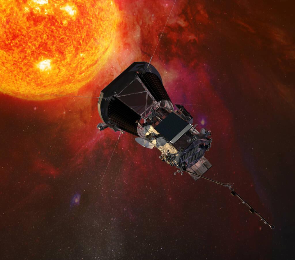 Naturhistorisches Museum: Vortrag zur Parker Solar Probe - Jener NASA-Mission, die unser Verständnis der Sonne revolutionieren will. Credit: Nasa, © Aussender (17.01.2018)