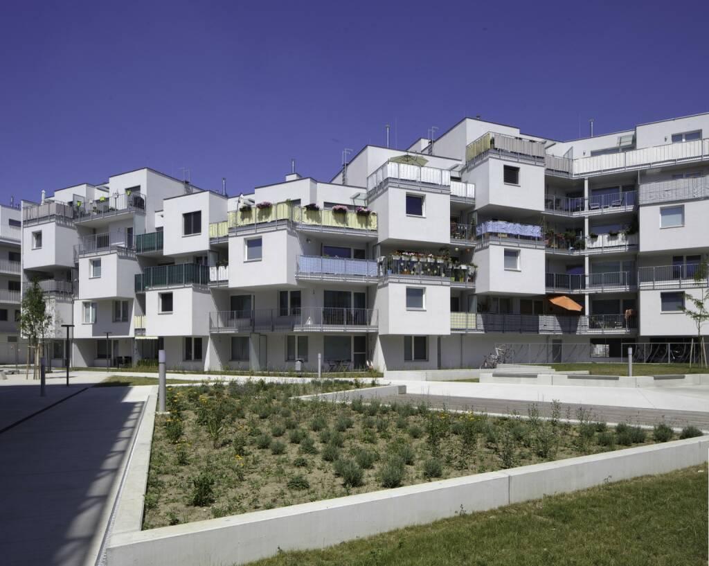 OASE22, ein realisiertes Projekt der Buwog, Donaustadt, Wohnungen, Copyright: BUWOG / Wolfgang Thaler  (23.01.2018)