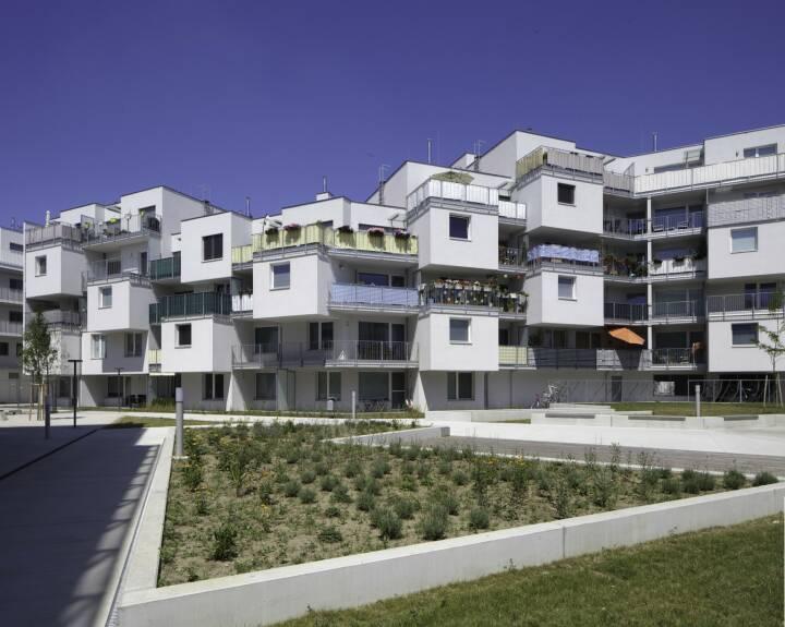 OASE22, ein realisiertes Projekt der Buwog, Donaustadt, Wohnungen, Copyright: BUWOG / Wolfgang Thaler