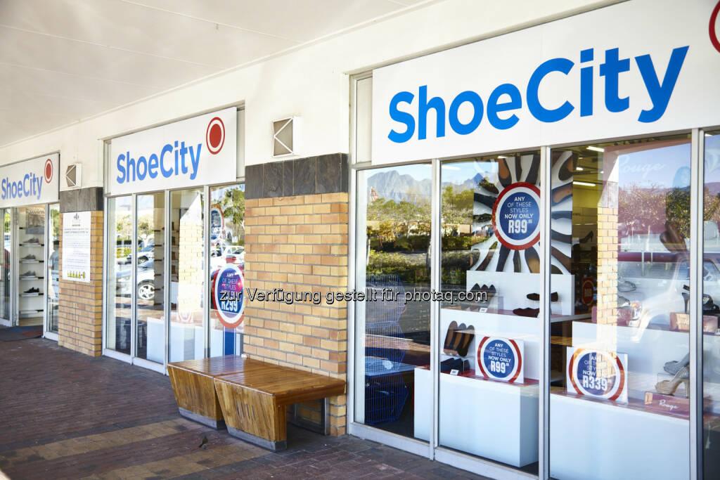 ShoeCity - eine Marke von Steinhoff; Bildquelle: steinhoffinternational.com (24.01.2018)