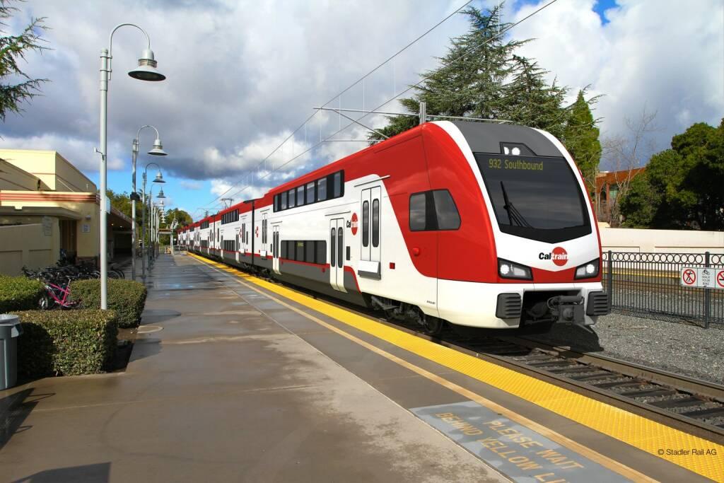 Traktionssysteme Austria GmbH: TSA erhält prestigeträchtigen Auftrag für Antriebsmotoren für neue Schnellbahn im Silicon Valley; Fotocredit:Stadler Rail AG, © Aussendung (24.01.2018)